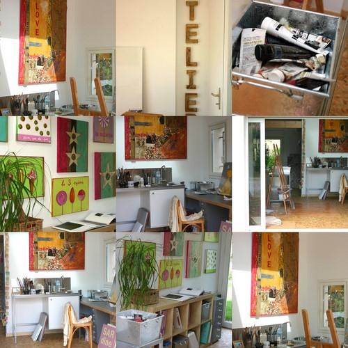 Atelier de peintres pension - Atelier artiste peintre ...