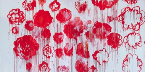 Writing, Cy Twombly