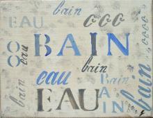 Tableau Bain 3 : Artiste peintre Sophie Costa