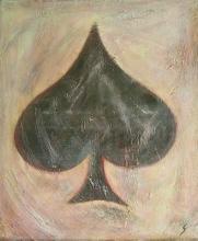 Tableau As de pique #2 : Artiste peintre Sophie Costa
