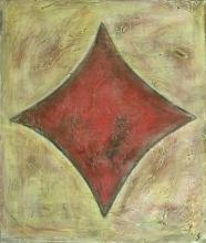 Tableau As de carreau : Artiste peintre Sophie Costa