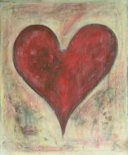 Tableau As de coeur : Artiste peintre Sophie Costa
