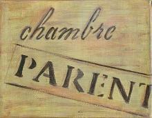 Tableau Chambre parents : Artiste peintre Sophie Costa