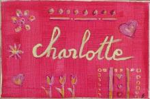 Tableau Charlotte : Artiste peintre Sophie Costa