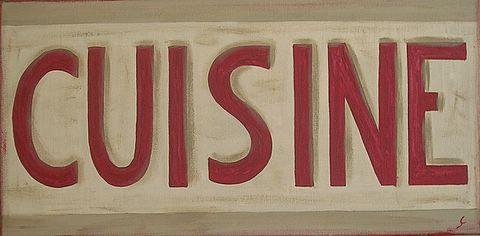 Cuisine tableau de sophie costa artiste peintre for Tableau des mesures en cuisine
