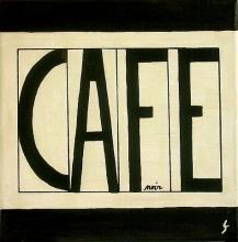 Tableau Café : Artiste peintre Sophie Costa