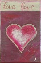 Tableau Love : Artiste peintre Sophie Costa