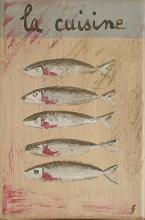 Tableau la cuisine : Artiste peintre Sophie Costa