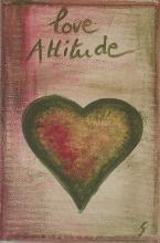 Tableau love attitude : Artiste peintre Sophie Costa