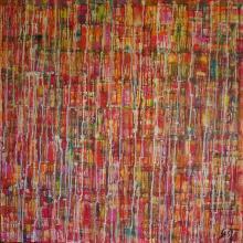 Tableau contemporain abstrait, Couleurs