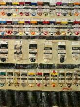 Tableau abstrait, objets du quotidien, Used