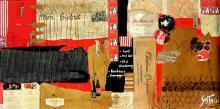 Tableau Mon Bistrot : Artiste peintre Sophie Costa