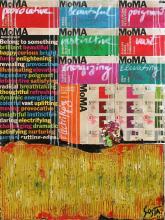 Tableau abstrait Moma