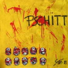 "Tableau ""PSCHITT"" : Artiste peintre Sophie Costa"