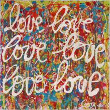 Tableau love, love #2 : Artiste peintre Sophie Costa
