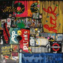 Tableau MUSIC ! : Artiste peintre Sophie Costa