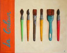 Tableau La couleur : Artiste peintre Sophie Costa