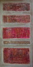 """Tableau """"Claudie"""" : Artiste peintre Sophie Costa"""