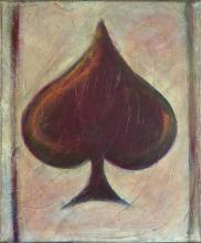 Tableau As de pique : Artiste peintre Sophie Costa