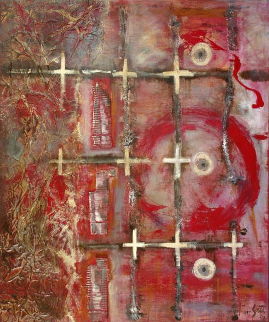 Tableau Contemporain, Ire. Sophie Costa, artiste peintre.