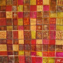 Tableau Squares 2 : Artiste peintre Sophie Costa