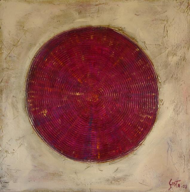 Tableau Contemporain, Cible 2. Sophie Costa, artiste peintre.