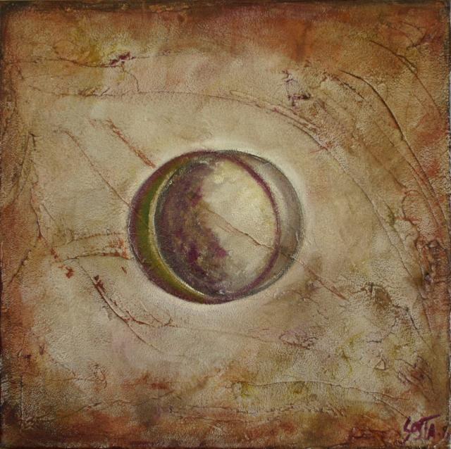 Tableau Contemporain, Just create 03. Sophie Costa, artiste peintre.