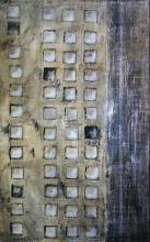 Tableau abstrait contemporain squares 04