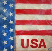 Tableau USA : Artiste peintre Sophie Costa