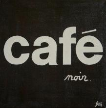 Tableau CAFE noir : Artiste peintre Sophie Costa