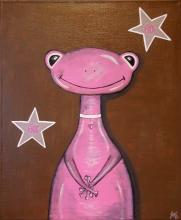 Tableau Enfant Miss Frog
