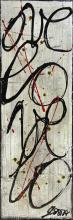 Tableau L O V E : Artiste peintre Sophie Costa