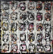 Tableau BLACK & WHITE : Artiste peintre Sophie Costa