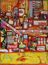 Tableau ENJOY  : Artiste peintre Sophie Costa