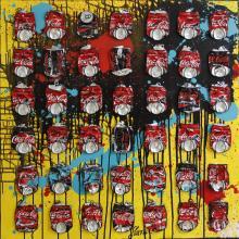 Tableau Atomic Coke : Artiste peintre Sophie Costa