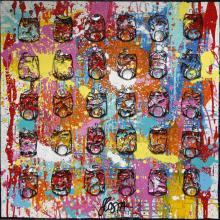 Tableau SPLASH : Artiste peintre Sophie Costa