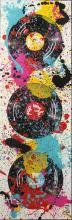 Tableau POP VINYLE : Artiste peintre Sophie Costa