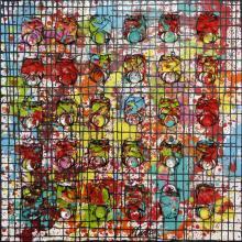 Tableau Black Network : Artiste peintre Sophie Costa