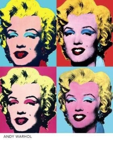 Oeuvre Marylins, Andy Warhol