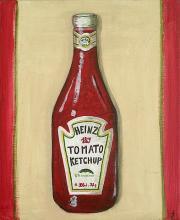 Tableau Ketchup : Artiste peintre Sophie Costa