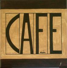Tableau Café (3) : Artiste peintre Sophie Costa