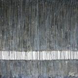 Tableau abstrait contemporain, Raining Day