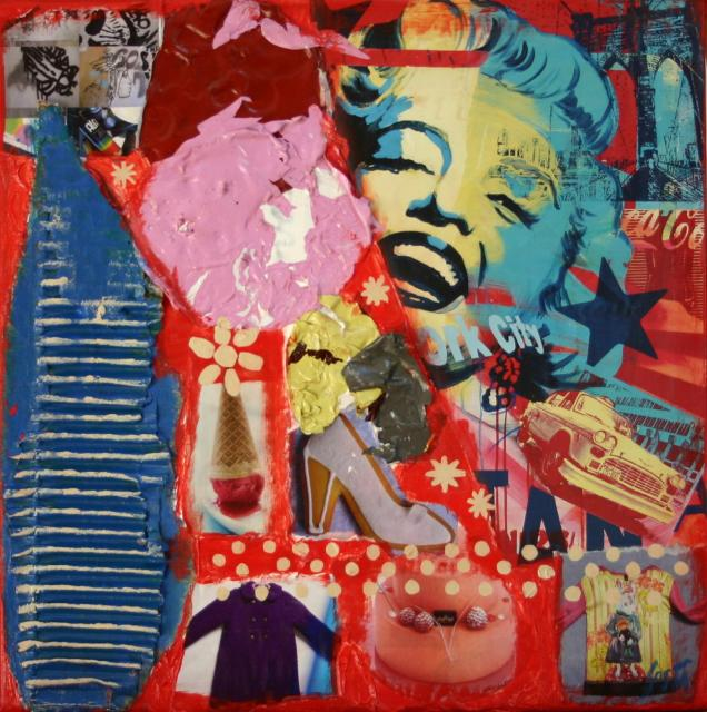 Tableau Contemporain, POP. Sophie Costa, artiste peintre.