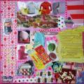 Tableau décoration chambre d'enfant, Girl 3
