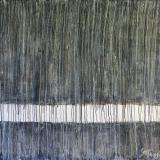 Tableau abstrait gris, Raining Day