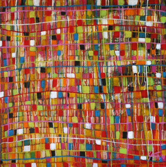 Tableau Contemporain, FRESH. Sophie Costa, artiste peintre.