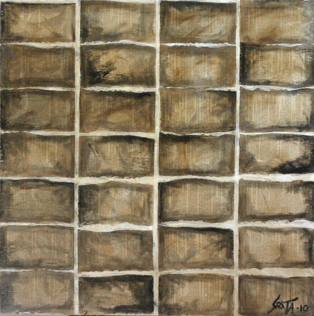 Tableau Contemporain, INCEPTION. Sophie Costa, artiste peintre.