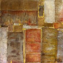 Tableau abstrait collage, ATLAS