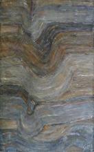 Tableau abstrait, couches superposées, Strates