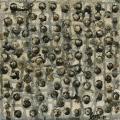 tableau abstrait contemporain petit format, bulles